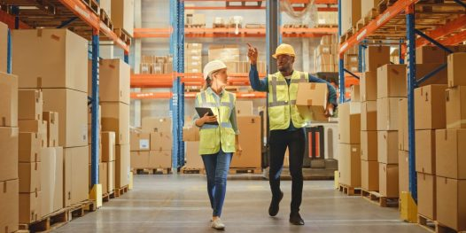 Retail,Warehouse,Full,Of,Shelves,With,Goods,In,Cardboard,Boxes,