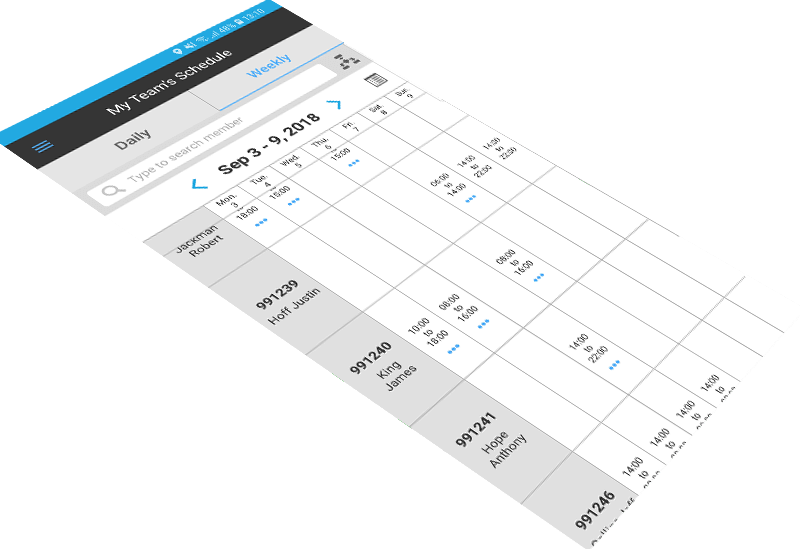 Tambla - Manage Schedule with Workforce Management Solution